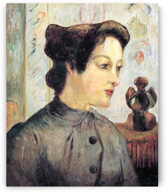 Women With Topknots by Gauguin by Gauguin