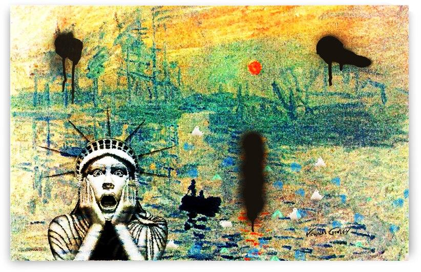 Monet Dies Modern by Nicholas Crowley