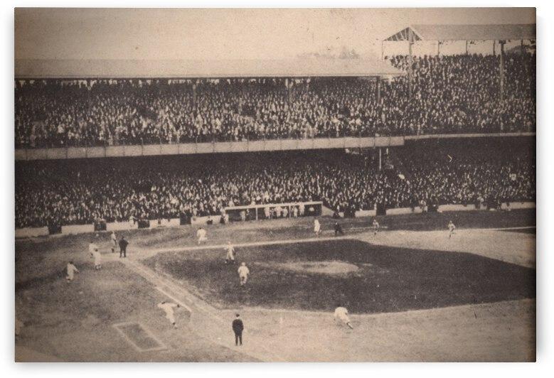 1924 World Series Washington Senators Winning Run by Row One Brand
