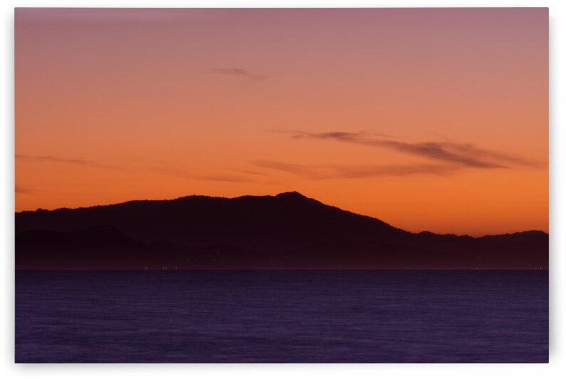 Berkeley Marina View of Mt. Tam by Greg Scafidi Photography