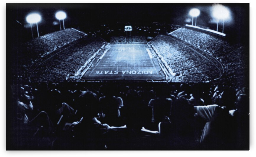 1982 Arizona State Football At Sun Devil Stadium by Row One Brand