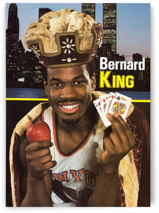 1984 Bernard King Poster King of New York by Row One Brand