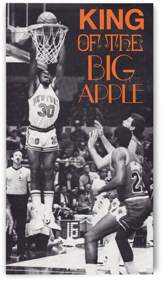 1984 King of the Big Apple Poster by Row One Brand