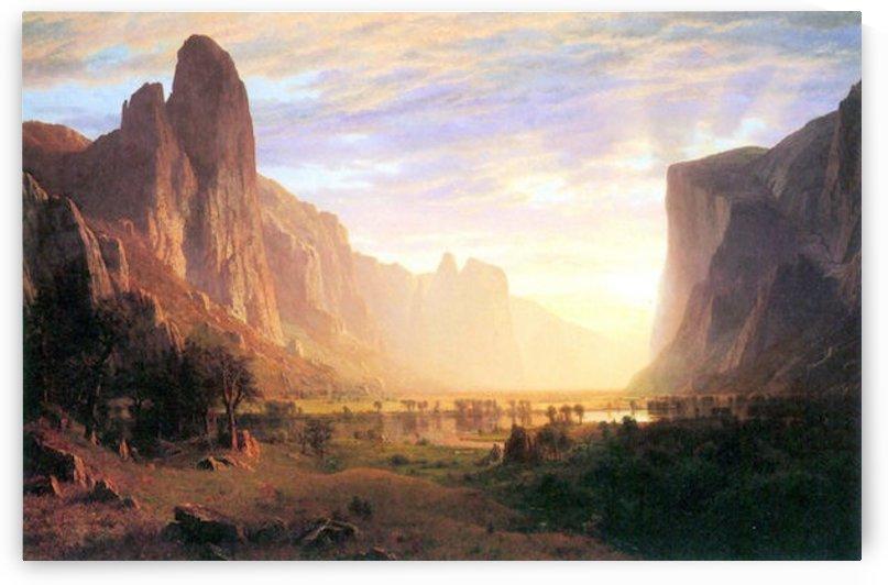 Yosemite Valley 3 by Bierstadt by Bierstadt