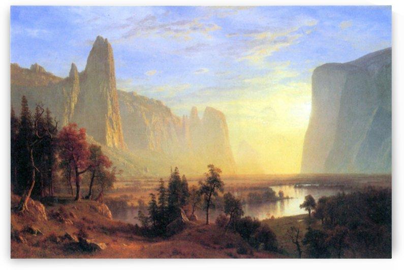 Yosemite Valley by Bierstadt by Bierstadt