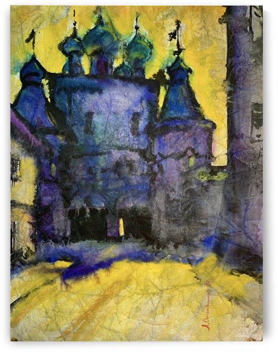 Monastery by Alexander Sokolowski