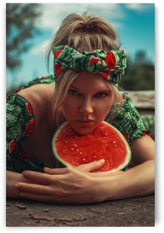 Melon by the Water IV by Artmood Visualz