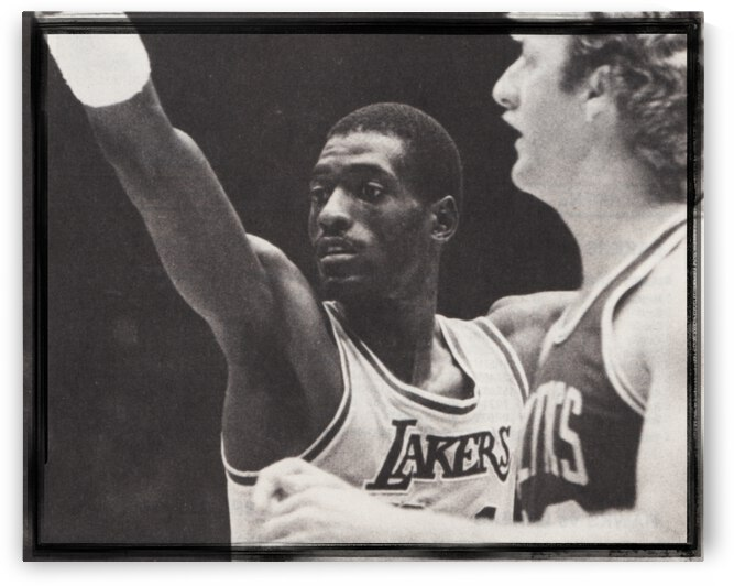 Michael Cooper and Larry Bird Film Strip by Row One Brand