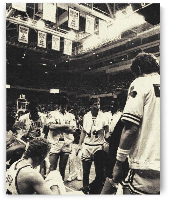 1986 Celtics Huddle by Row One Brand