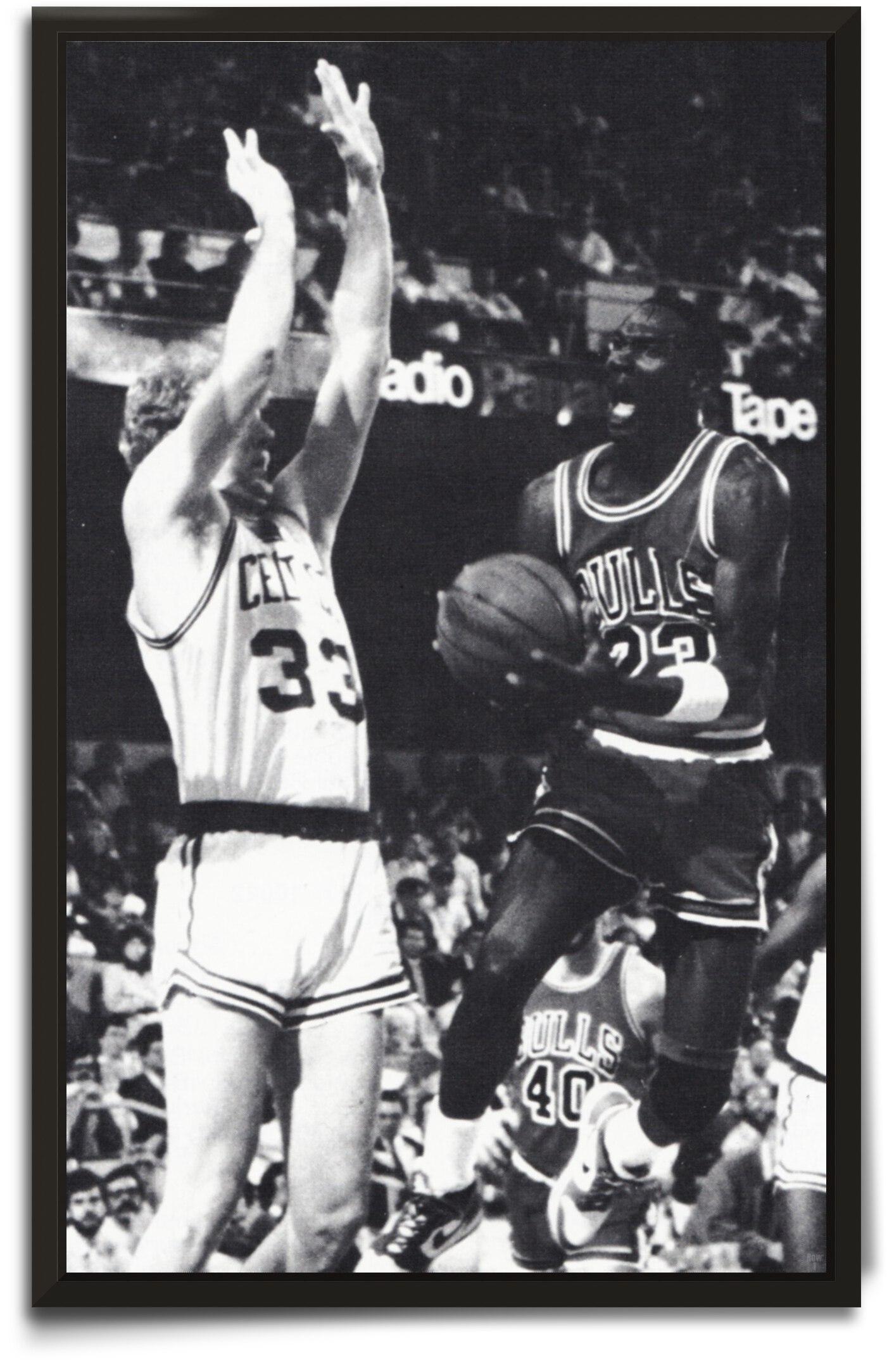 1986 Michael Jordan Art by Row One Brand
