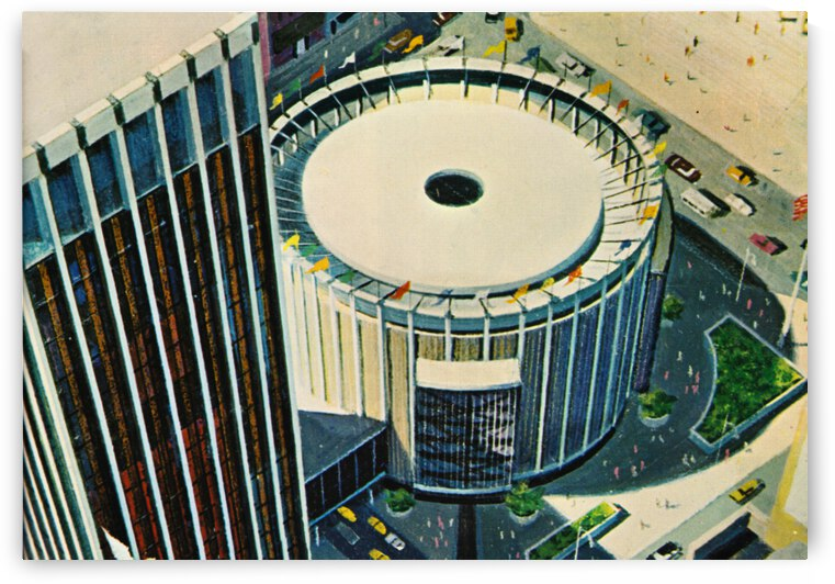 1968 Madison Square Garden by Row One Brand