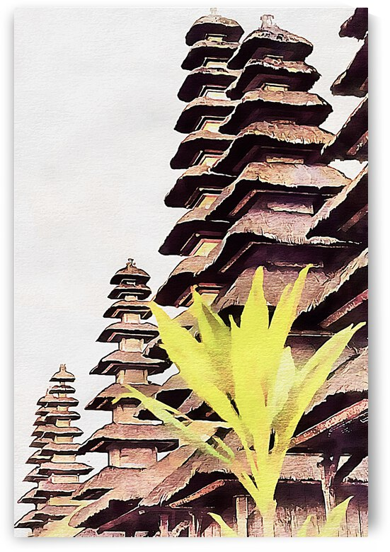 Balinese Temple 8 by Dorothy Berry-Lound