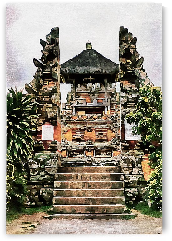 Balinese Temple 11 by Dorothy Berry-Lound