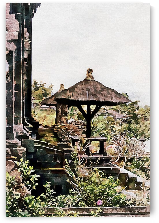 Balinese Temple 4 by Dorothy Berry-Lound
