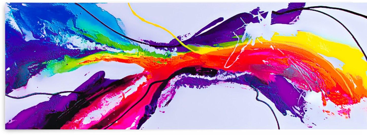Abstract Art Britto - QB298 by SIDINEI BRITO