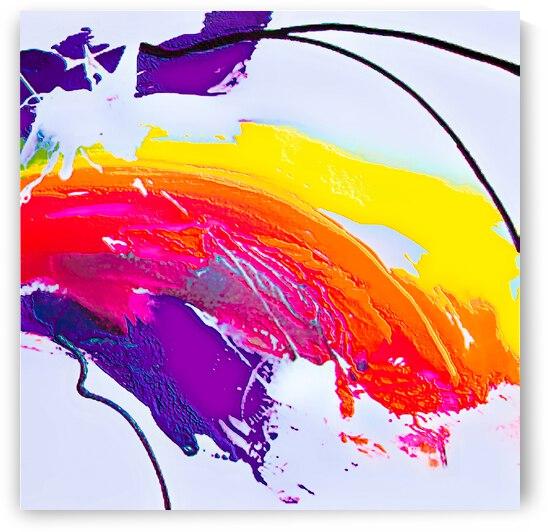 Abstract Art Britto   QB298c by SIDINEI BRITO