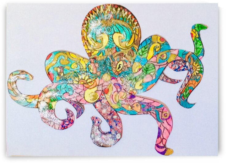 Octopussy   by Zaramar Paintings