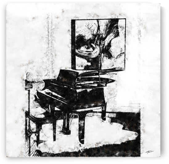 The Piano Room by Tae