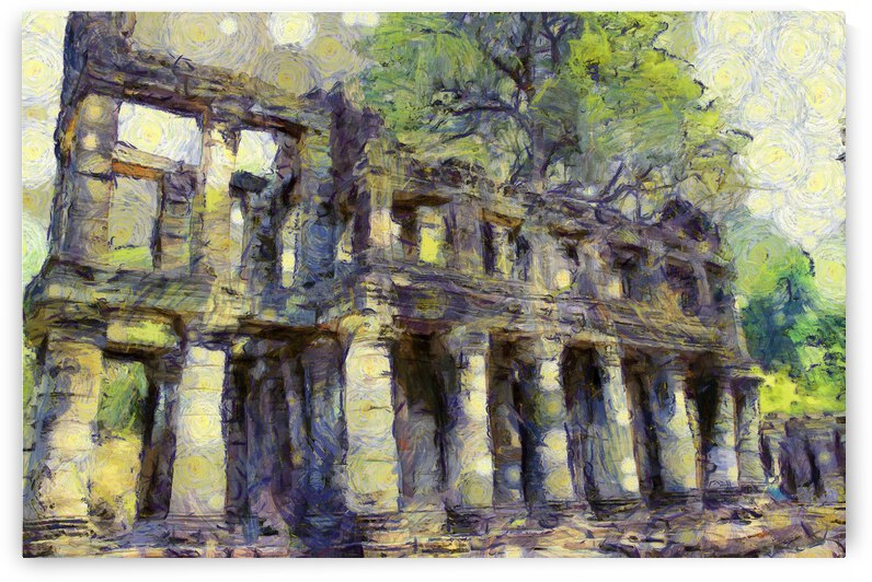 CAMBODIA 131 Angkor Wat  Siem Reap VincentHD by Cambodia painting