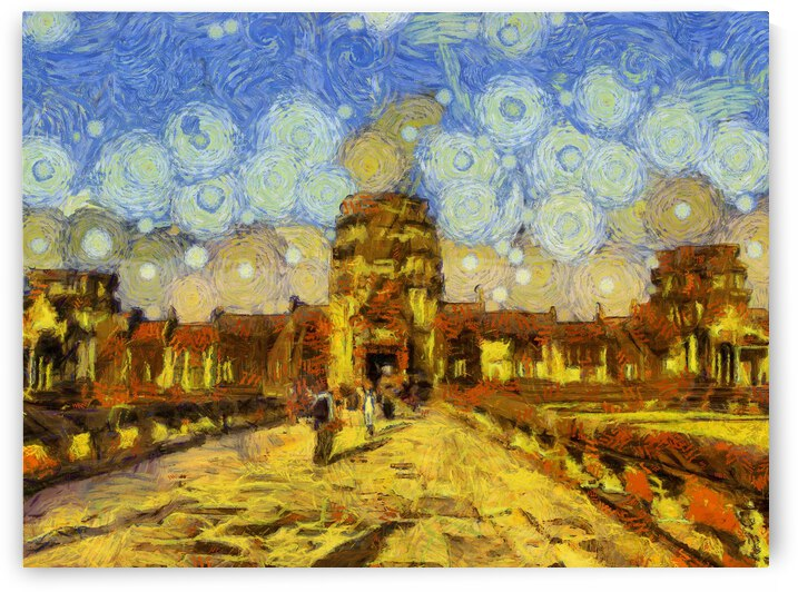 CAMBODIA 133 Angkor Wat  Siem Reap VincentHD by Cambodia painting