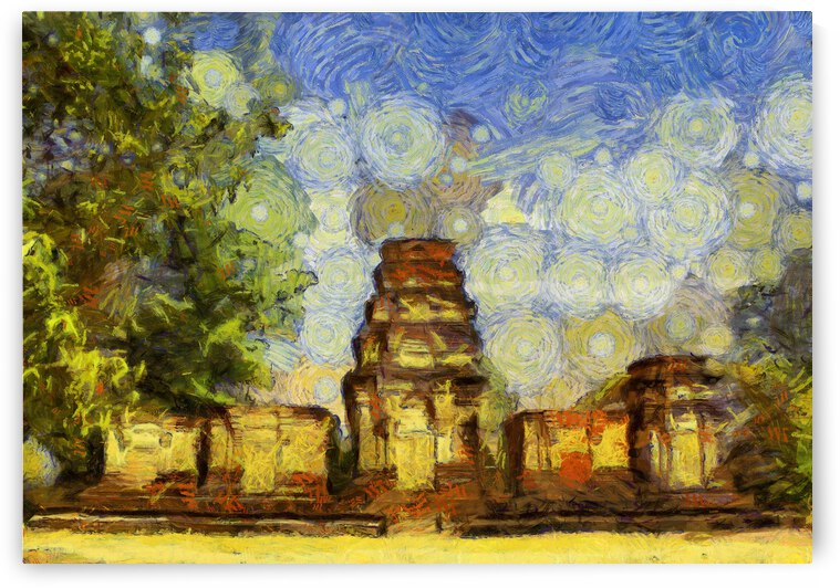 CAMBODIA 137 Angkor Wat  Siem Reap VincentHD by Cambodia painting