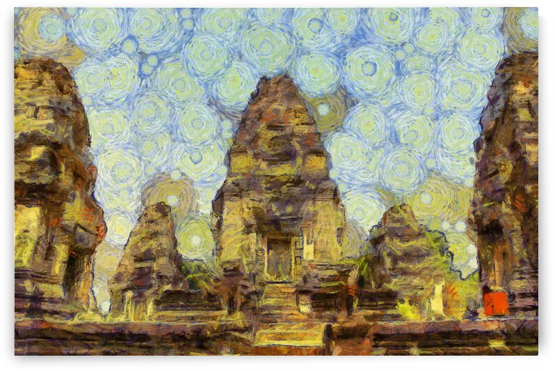 CAMBODIA 134 Angkor Wat  Siem Reap VincentHD by Cambodia painting