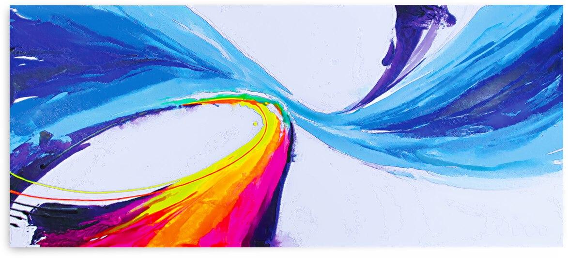 Abstract art britto QB297 by SIDINEI BRITO