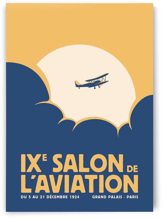 Salon de laviation Yellow by Rene Hamann