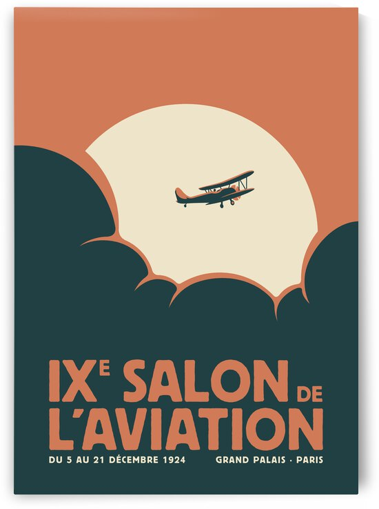 Salon de laviation Red by Rene Hamann