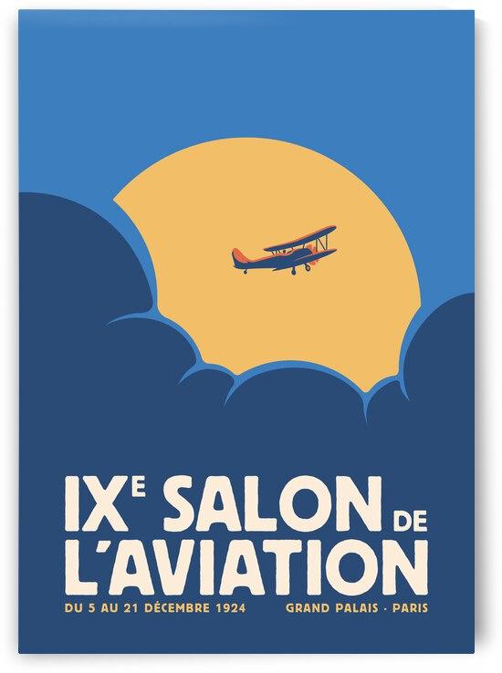 Salon de laviation Blue by Rene Hamann
