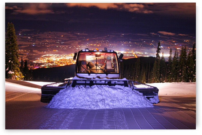 Snowcat - Town OF Smithers BC by Stephan Malette