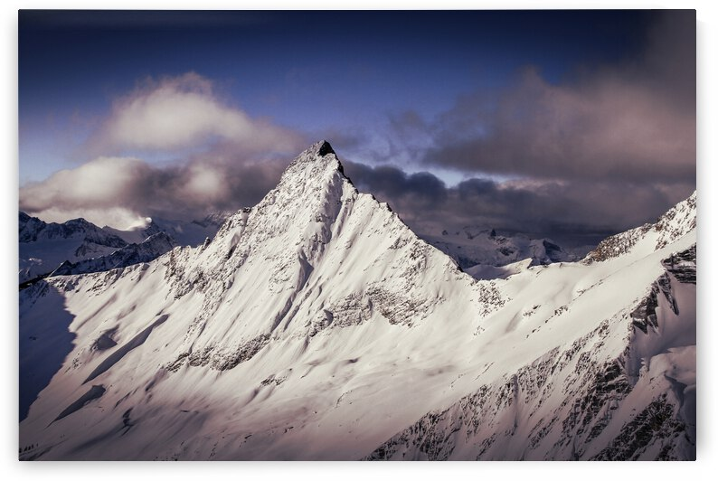 Purcells Mountains by Stephan Malette