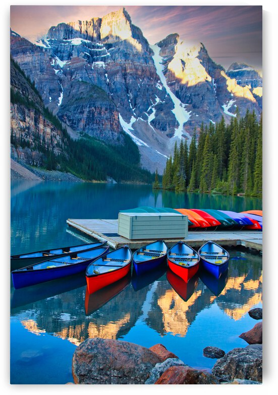 Morraine Lake by Stephan Malette