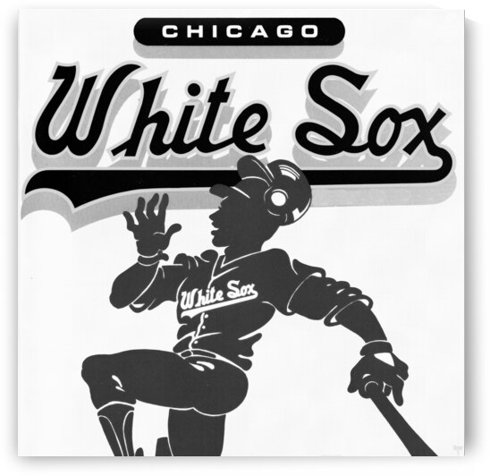 1987 Chicago White Sox Remix Art by Row One Brand