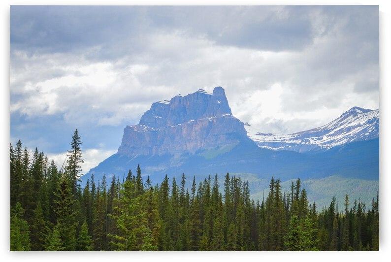 Castle Mountain - Banff National Park by Stephan Malette