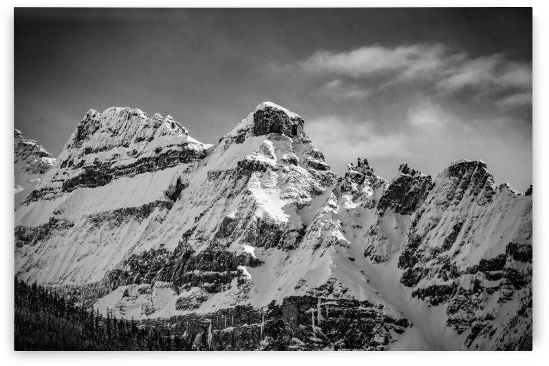 B&W Stanley Glacier by Stephan Malette