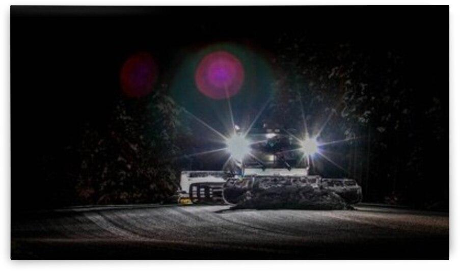 Night Snowcat by Stephan Malette