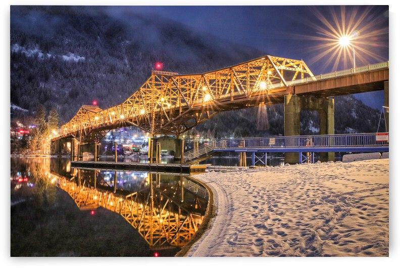 Big Orange Bridge - Nelson BC by Stephan Malette