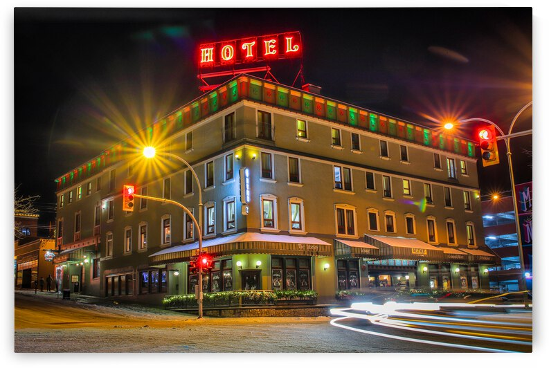 Town Of Nelson - Hotel by Stephan Malette