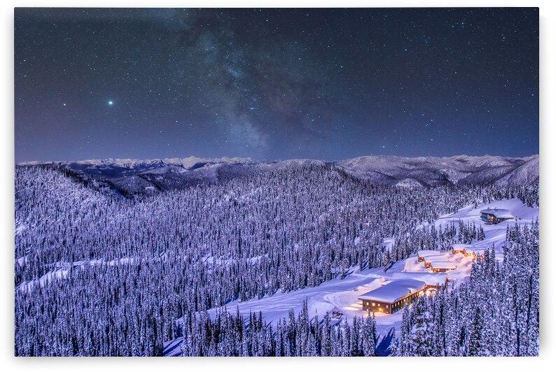 Baldface Lodge Milky Way by Stephan Malette