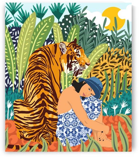 Awaken The Tiger Within by 83 Oranges