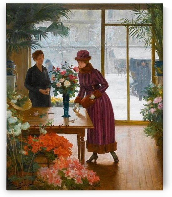 Florist by Victor Gilbert