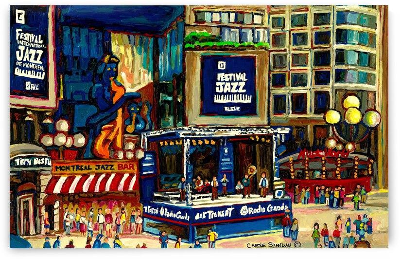 MONTREAL JAZZ FESTIVAL SUMMER EVENT by Carole  Spandau