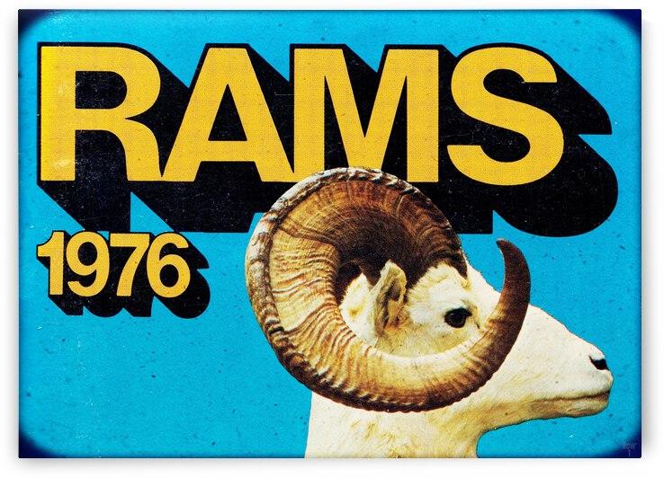 1976 LA Rams Viewfinder Slide Art by Row One Brand