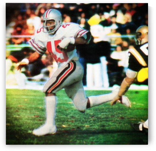 1975 Ohio State Archie Griffin Art by Row One Brand
