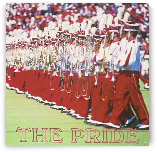 1986 Pride of Oklahoma Marching Band Art by Row One Brand