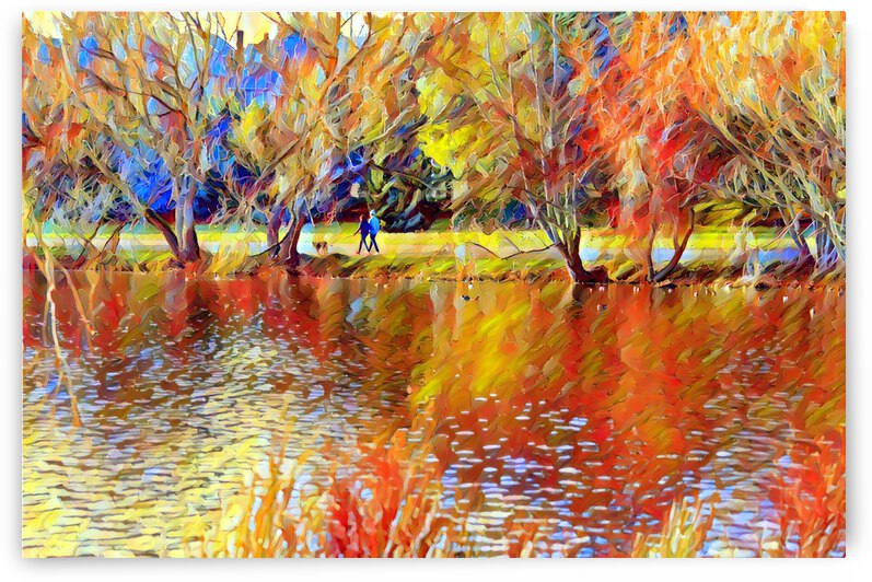 autumn in the park11 by Barbara Treen