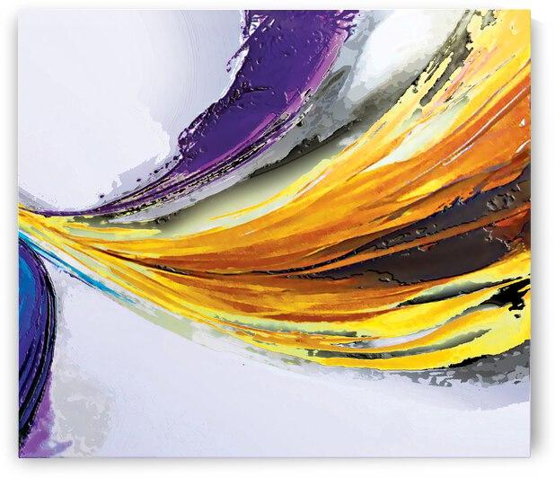 Abstract Art Britto QB296b by SIDINEI BRITO