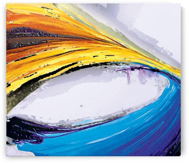 Abstract Art Britto QB296a by SIDINEI BRITO