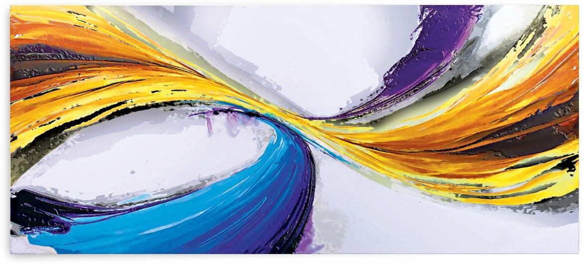 Abstract Art Britto QB296 by SIDINEI BRITO